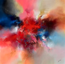 Taming The Heavens by Simon Kenny -  sized 48x48 inches. Available from Whitewall Galleries